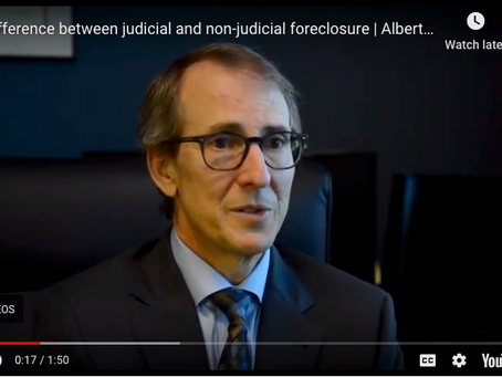 Judicial vs. Non-Judicial Foreclosure | Albertazzi Law Firm