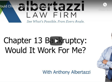 Chapter 13 Bankruptcy: Would It Work For Me? | Albertazzi Law Firm