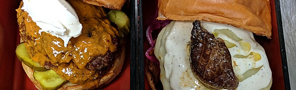 Specialty Burgers & Crispy Chicken Sandwiches
