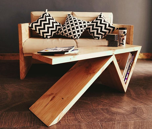 Hair-pin Inspired coffee table