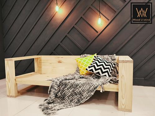 Modern edge square sofa