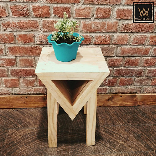 Love Triangle Side Table