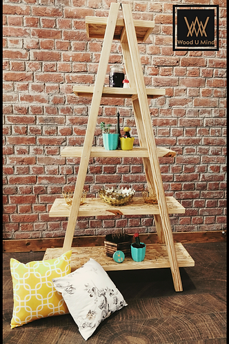 Twin Ladder Shelf