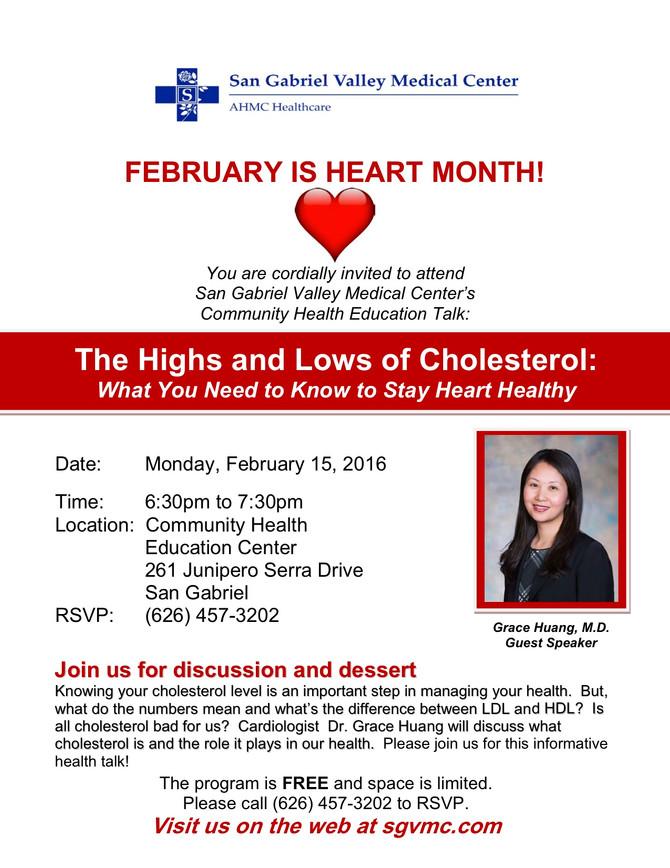 Seminar for Heart Awareness Month