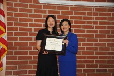 Recognized by Congresswoman Judy Chu as a Woman of Distinction 2014