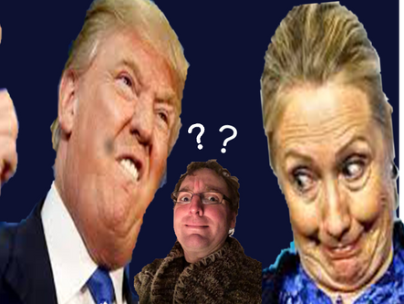 Professor Cornbluthe's presidential political calculus.  E=MC[scared].