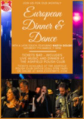 Alternate European Dinner & Dance March