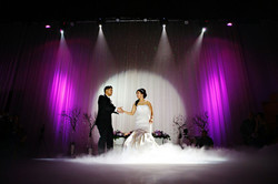 First dance low lying fog