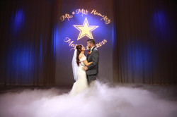 First Dance low lying fog & monogram