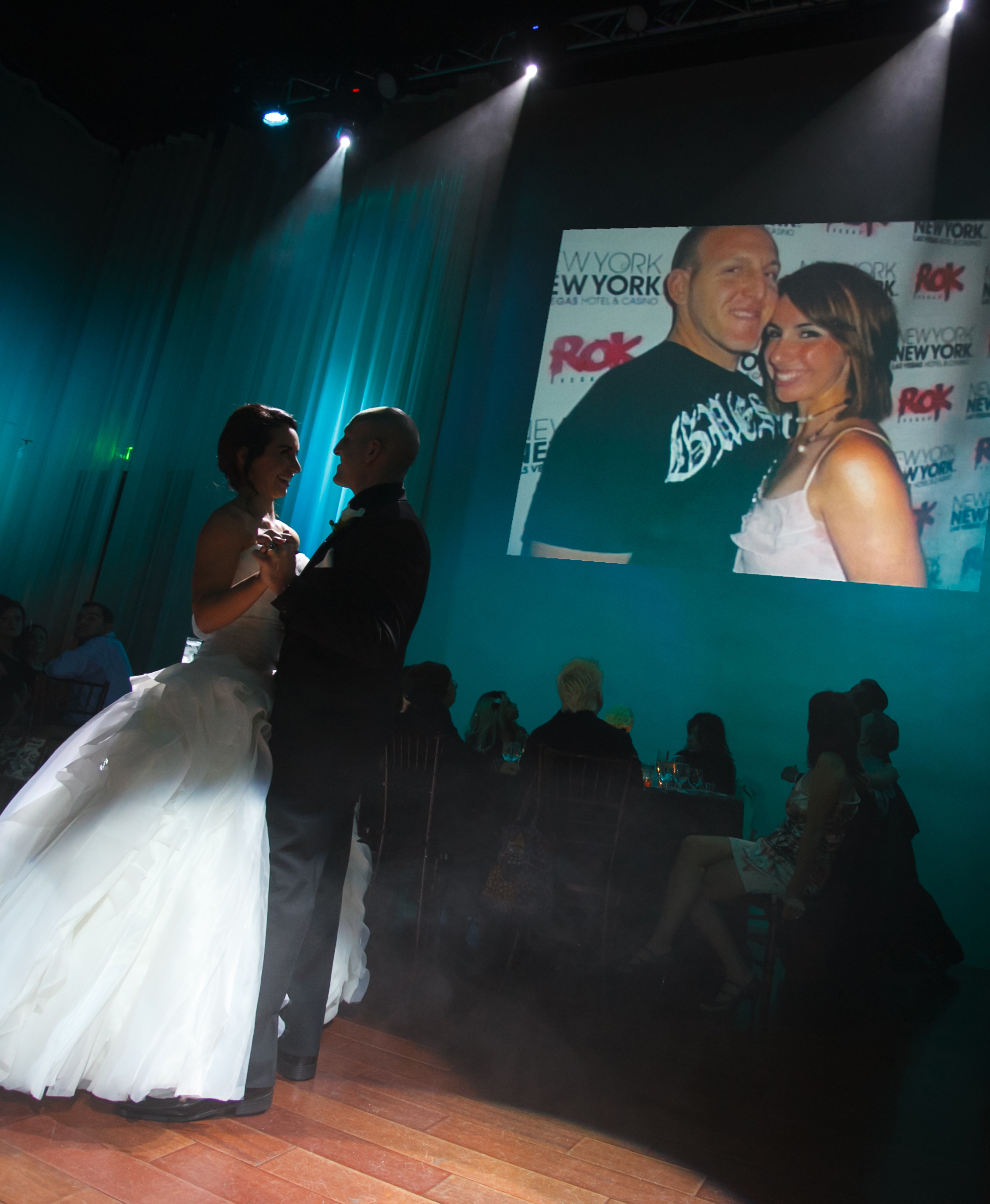 First dance with video
