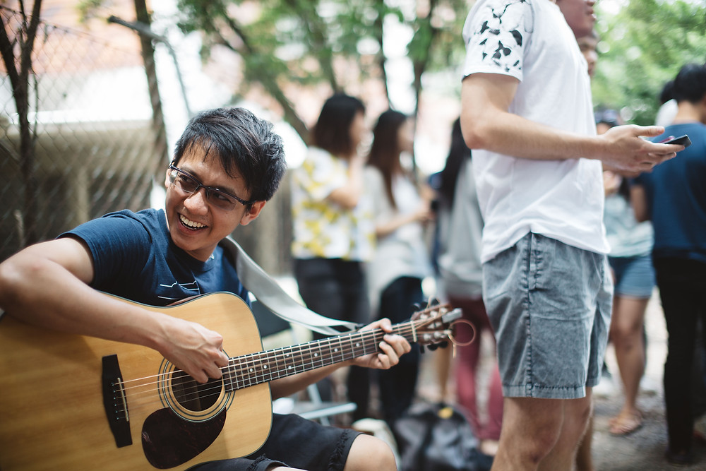 Busking for a Cause