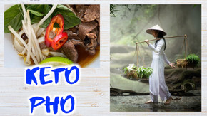 Vietnamese Beef Noodle Soup AKA PHO - Keto / Low Carb & Easy Version