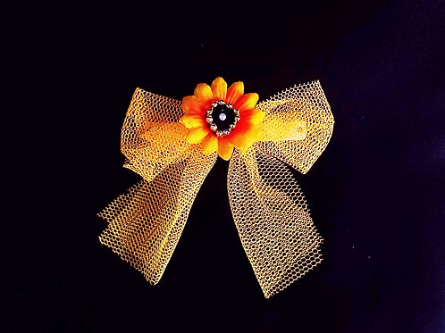 """...Bow of a glamorous sunflower!"""