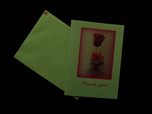 """...Freshness of Spring Thank You Card!"""