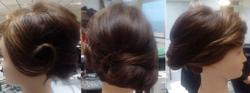 Hair up trial