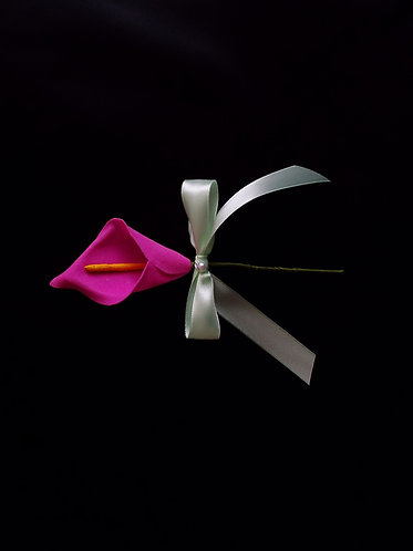 """""""...Fuchsia Lilly of Spring Boutonnière!"""""""