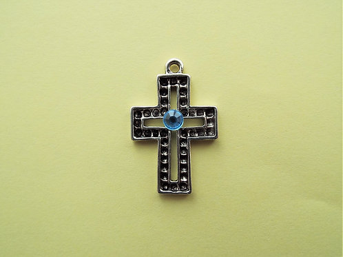 """Blue Diamantѐ"" cross"