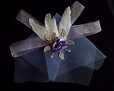 wedding accessories in light purple colour