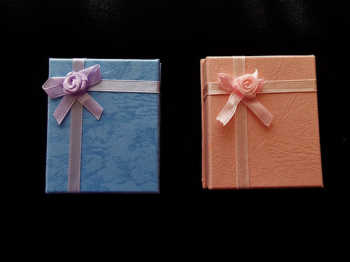 """...Blue and Pink Elegance!"" Gift Boxes"