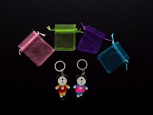 """""""Cute Panda"""" key rings!"""