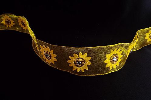 """...Artistic Sunflowers with Diamantés!"""