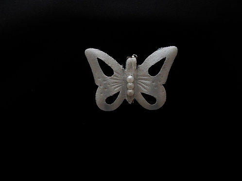 """... Butterfly of Pearls!"" Brooch"