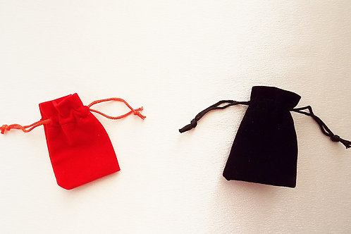 """""""...Red and Black Velvet Pouches of Love!"""""""