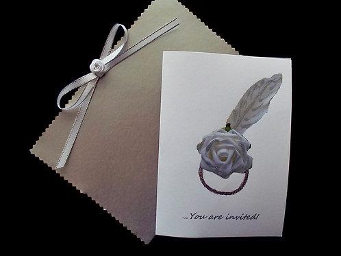 """...Rosy Bliss Invitation Card!"""
