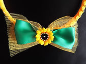 wedding accessories in yellow and green colour!