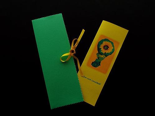 """...Sunflower's Invitation Card!"""