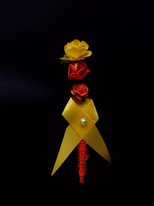 """...Little Lava Boutonnière of Love!"""