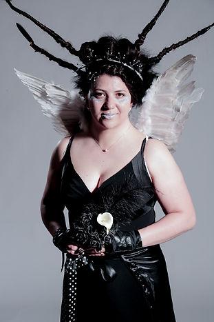 The Ice Queen! Avant Garde Hairstyle.jpg
