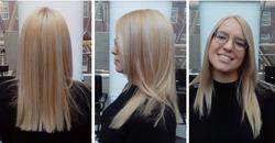 Bleaching and Toning Hair