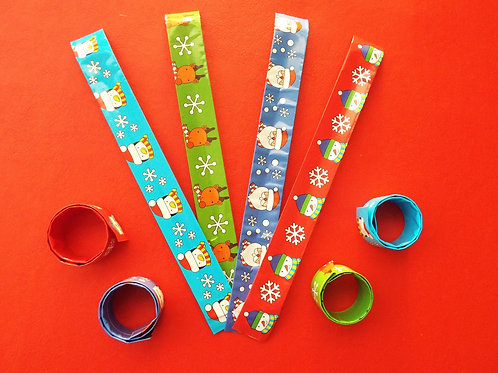 """...Christmas snap on bracelets!"""