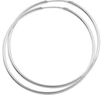 400372 Zilveren oorringen 52x1.5mm