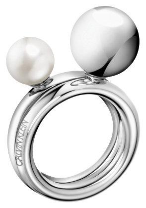 KJ9RMR040607 Calvin Klein ring set/2 maat 7 / 17,5