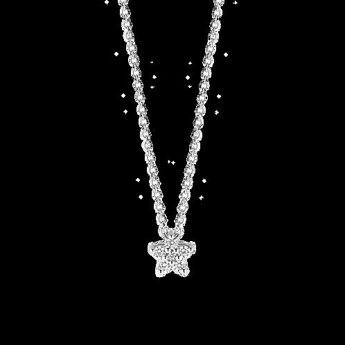 3940ZI Ti Sento zilveren collier met zirconia
