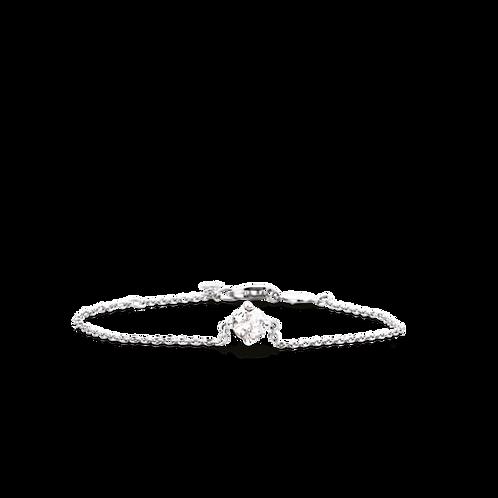 2914TC Ti Sento zilveren armband met zirconia