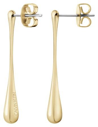 KJDMJE100100 Calvin Klein oorhangers elipse gold