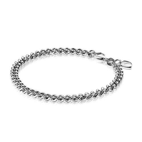 ZIA1414 ZINZI zilveren armband gourmette