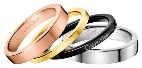 KJ7GPR400108 Calvin Klein 4 ringen set maat 8/18