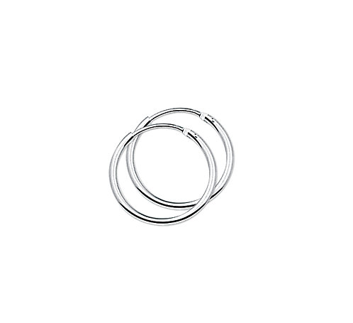 35610115 Zilveren oorringen 17x1.3mm