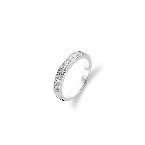 1151ZI Ti Sento zilveren ring met zirconia