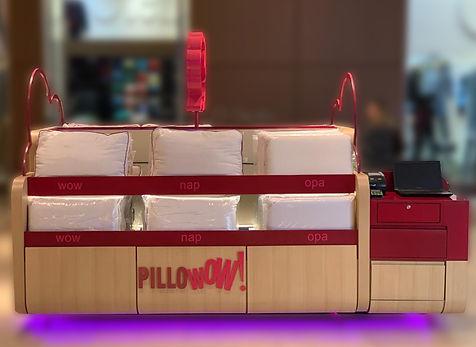 Franquia de travesseiros Pillowow!