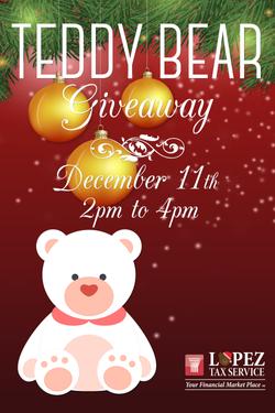 2016 Teddybear givewaway