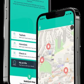 WalkSafe app updated