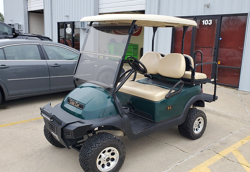 2014 Custom Club Car Precedent 48v