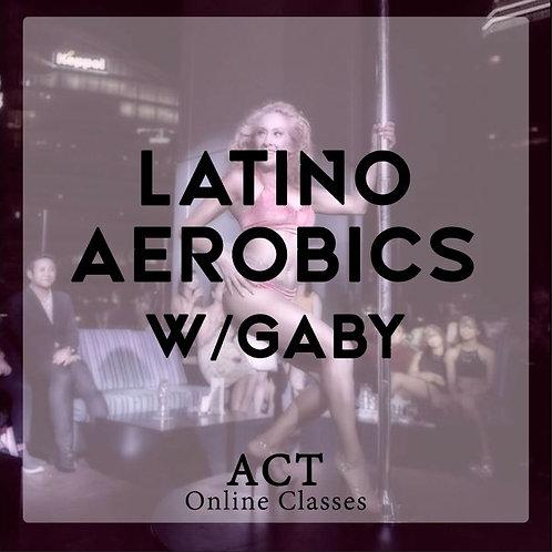 ACT Online X Latino Aerobics  (TUESDAYS, 7.30PM)