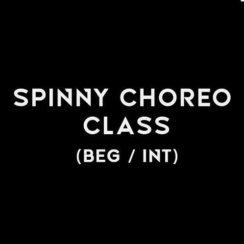 SPINNY CHOREO BEG / INT