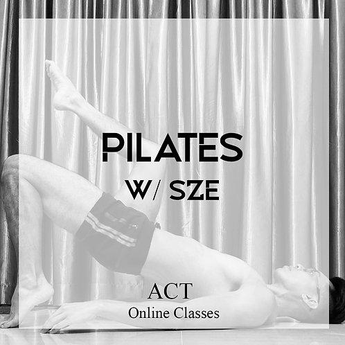 ACT Online X Pilates  (SATURDAYS & SUNDAYS, 10.00AM)